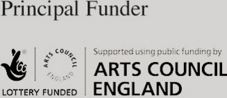 Principal Funder | Lottery Funded | Supported using publish funding by Arts Council England